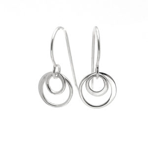 Ss Simple Double Earring copy
