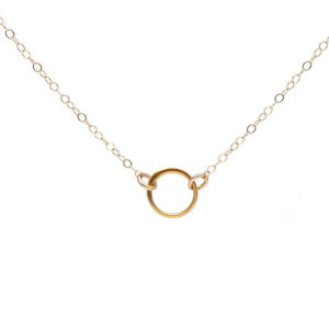 GF Simple Ring Necklace2