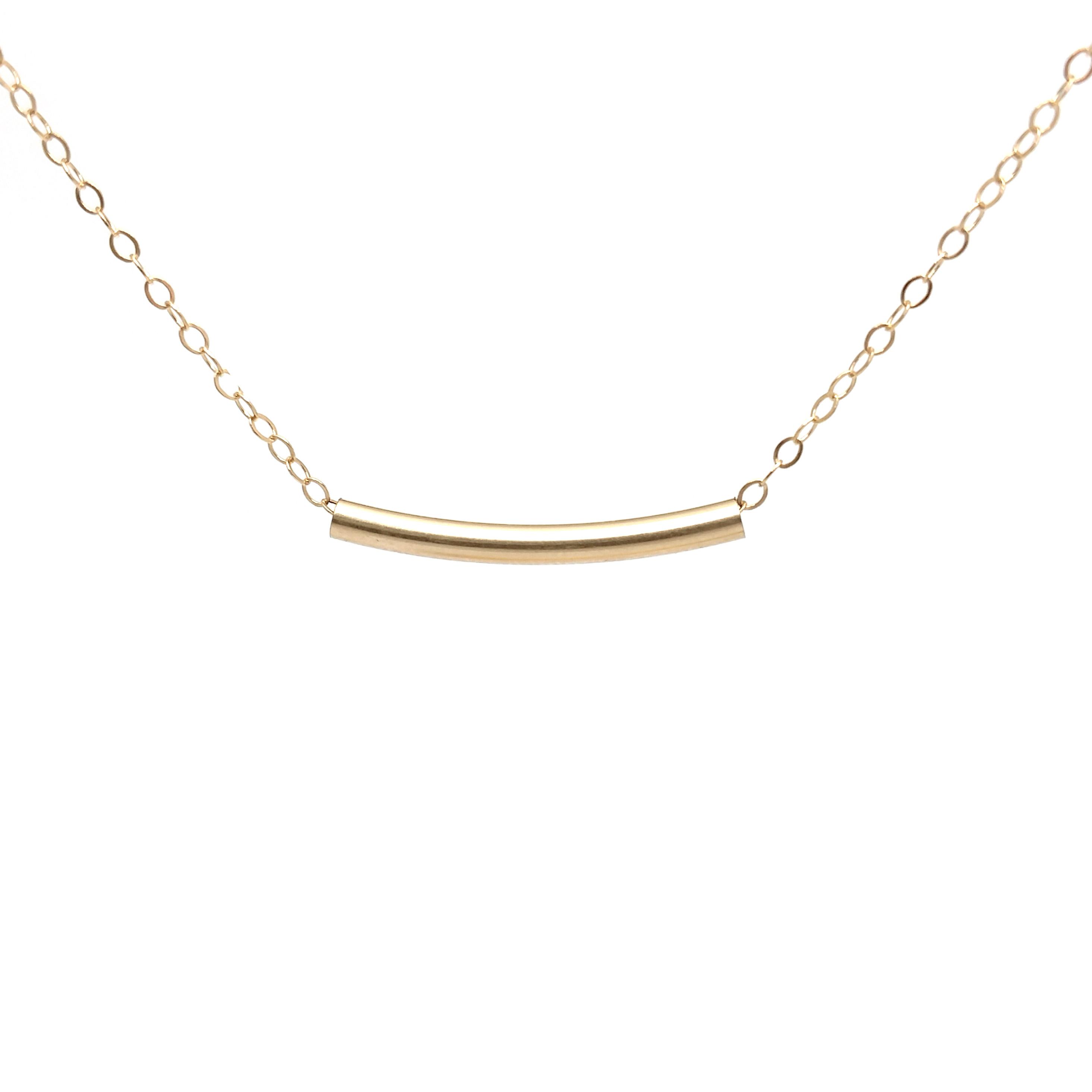 Sliding 14k gold filled layering necklace soasa designs aloadofball Choice Image